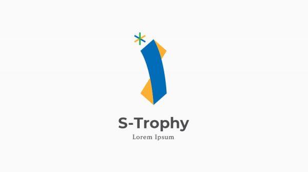 S 이니셜 트로피 로고 전시관